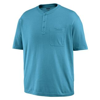 Wolverine Knox Henley Cerulean Heather