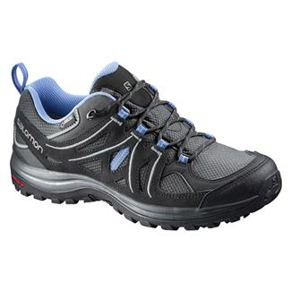 Salomon Ellipse 2 GTX Asphalt / Black / Petunia Blue