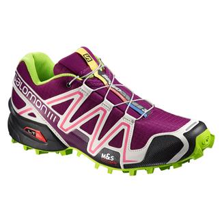 Salomon Speedcross 3 Mystic Purple / Light Grey / Granny Green
