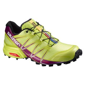 Salomon Speedcross Pro Gecko Green / Mystic Purple / White