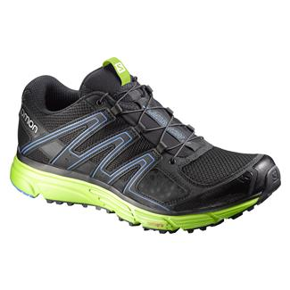 Salomon X-Mission 3 Black / Granny Green / Bright Blue