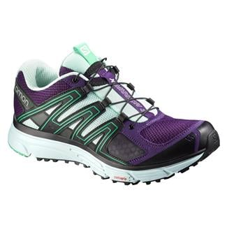 Salomon X-Mission 3 Cosmic Purple / Igloo Blue / Jade Green