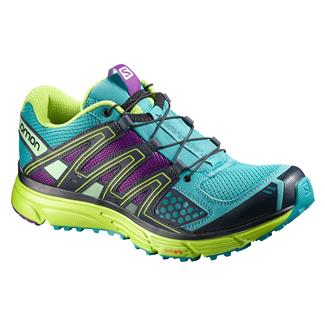 Salomon X-Mission 3 Teal Blue / Granny Green / Passion Purple