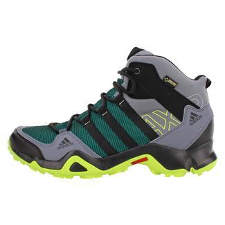 Adidas AX2 Mid GTX Black / Semi Solar Slime / Onix