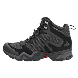 Adidas Fast X High GTX Black / Dark Gray / Power Red
