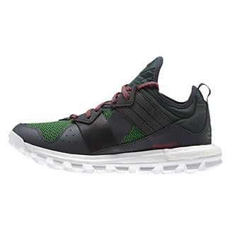 Adidas Response Trail Boost Mineral Green / Shock Red / White
