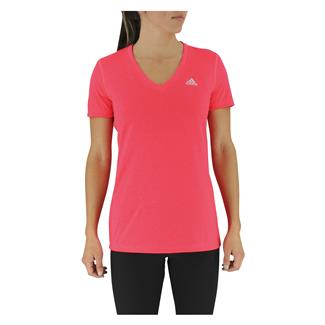 Adidas Ultimate V-Neck T-Shirt Shock Red