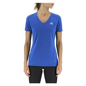 Adidas Ultimate V-Neck T-Shirt Shock Blue