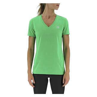 Adidas Ultimate V-Neck T-Shirt Solar Lime
