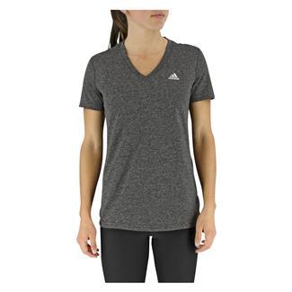 Adidas Ultimate V-Neck T-Shirt Dark Gray Hthr