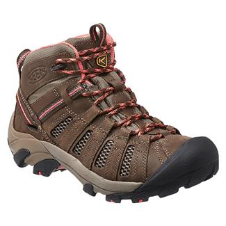 Keen Voyageur Mid Cascade Brown / Fusion Coral