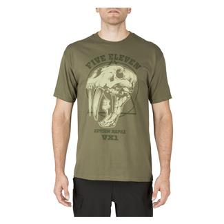 5.11 Apex Predator T-Shirt Military Green