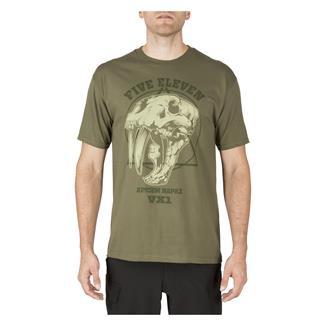 5.11 Apex Predator T-Shirt Military Green