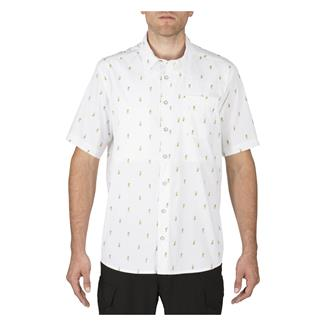 5.11 Five-O Covert Shirt White