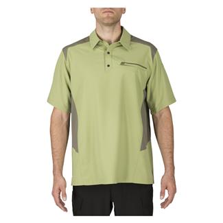 5.11 Freedom Flex Polo Sage Green / Mosstone