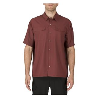 5.11 Freedom Flex Short Sleeve Woven Shirts Spartan