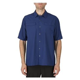 5.11 Freedom Flex Short Sleeve Woven Shirts Olympian