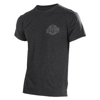 5.11 Freedom T-Shirt Charcoal Heather