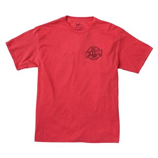 5.11 Freedom T-Shirt Red Heather