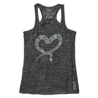 5.11 Heart Henna Tank Black Marble
