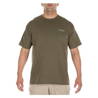 5.11 MOLLE America T-Shirt Military Green