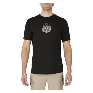 5.11 Owl T-Shirt Black