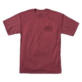 5.11 Purpose Built T-Shirt Burgundy Heather