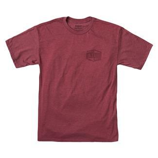 5.11 Purpose Built T-Shirt Burgundy Heather
