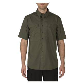5.11 Short Sleeve Stryke Shirt TDU Green