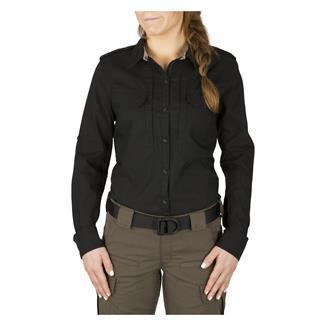 5.11 Spitfire Shooting Long Sleeve Shirt Black