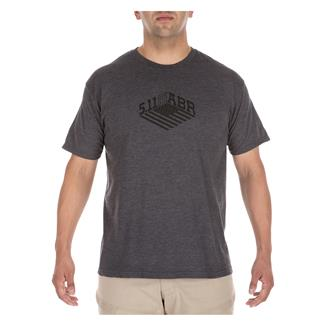 5.11 Stronghold T-Shirt Charcoal Heather