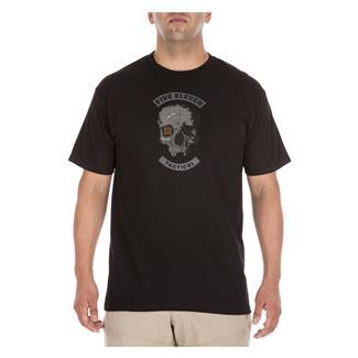 5.11 Topo Skull T-Shirt Black