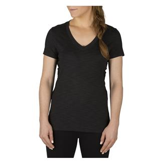 5.11 Zig Zag V-Neck Tactical Shirt Black