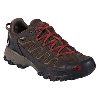 The North Face Ultra 109 GTX Coffee Brown / Rosewood Red