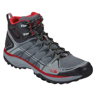 The North Face Litewave Explore Mid Monument Gray / Pompeian Red