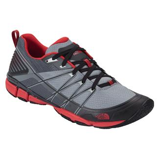 The North Face Litewave Ampere Monument Gray / Fiery Red
