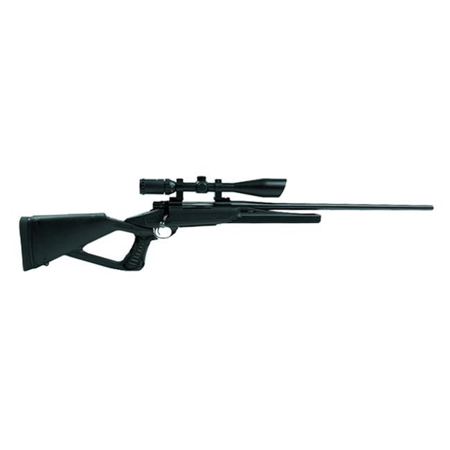 Blackhawk Axiom TH Thumbhole Rifle Stock - Polymer Full Float Black