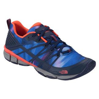 The North Face Litewave Ampere Patriot Blue Print / Tropical Coral