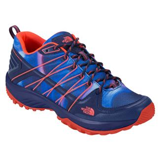 The North Face Litewave Explore Patriot Blue Print / Tropical Coral