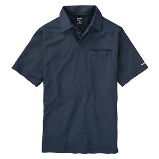 Timberland PRO Base Plate Blended Polo Shirt Navy