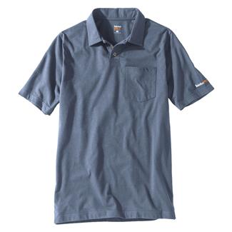 Timberland PRO Base Plate Blended Polo Shirt Flint Blue