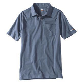 Timberland PRO Base Plate Blended Polo Shirt Flint Blue