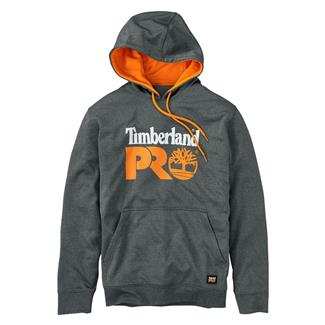 Timberland PRO Hoodmaster Fleece Pullover Hoodie Medium Heather Gray