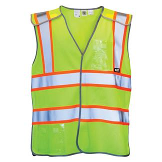 CAT 5 Point Breakaway Safety Vest Hi-Vis Yellow