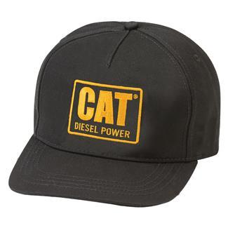CAT Diesel Trucker Hat Black