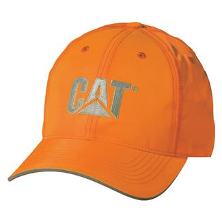 CAT Hi-Vis Trademark Hat Hi-Vis Orange