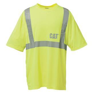 CAT Hi-Vis T-Shirt Hi-Vis Yellow
