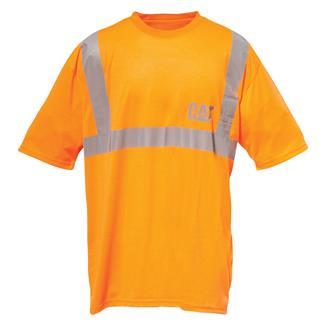 CAT Hi-Vis T-Shirt Hi-Vis Yellow Hi-Vis Orange