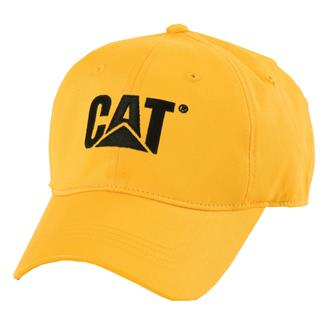 CAT Trademark Stretch Fit Hat Yellow