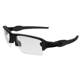 Oakley SI Flak 2.0 XL Matte Black (frame) - Clear and Gray (lens)